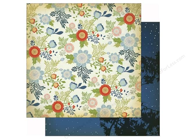 Carta Bella 12 x 12 in. Paper Great Outdoors Wildflowers (25 sheets)