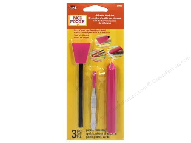 Plaid Mod Podge Tools Silicone Kit 3pc