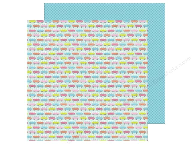 Doodlebug 12 x 12 in. Paper Fun In The Sun Caravan (25 sheets)
