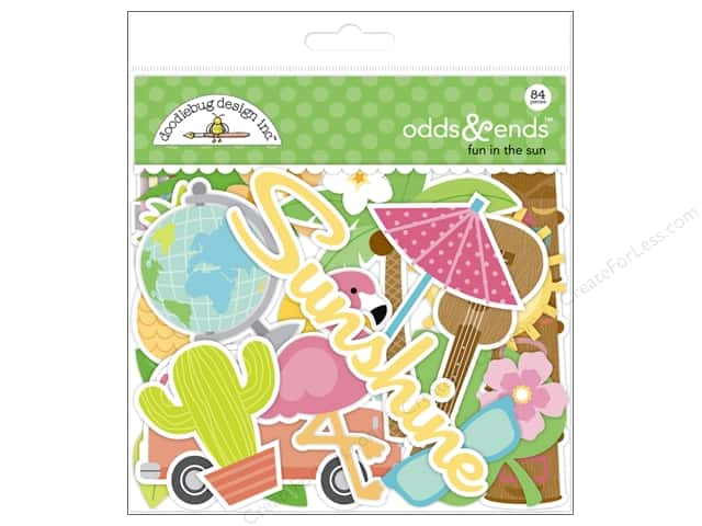 Doodlebug Collection Fun In The Sun Odds & Ends