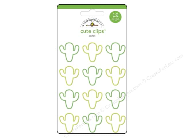 Doodlebug Collection Fun In The Sun Cute Clips Cactus