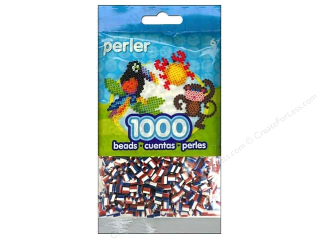 Perler Bead 1000 pc. Patriotic Stripe