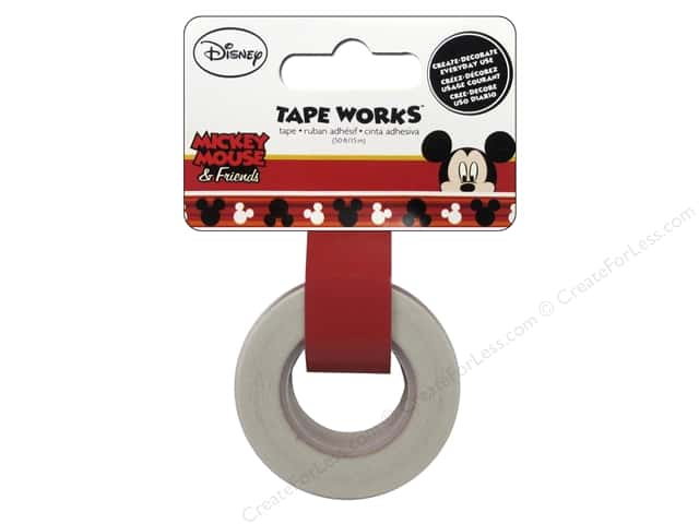 SandyLion Tape Works Disney Mickey Ears 50ft
