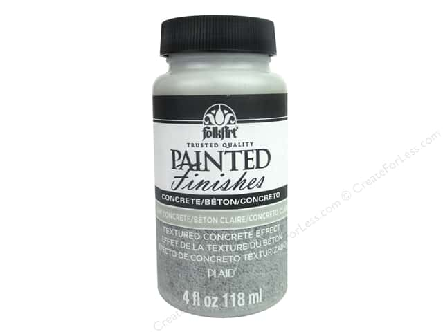 Plaid FolkArt Painted Finishes 4 oz. Light Concrete