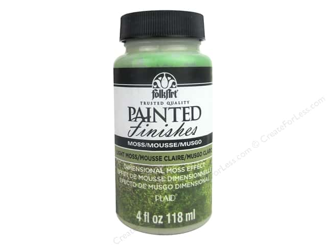Plaid FolkArt Painted Finishes 4 oz. Light Moss