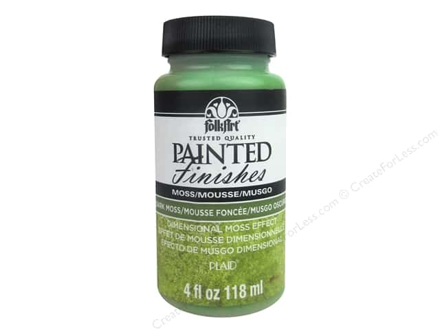 Plaid FolkArt Painted Finishes 4 oz. Dark Moss
