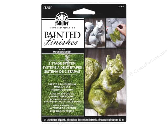 Plaid FolkArt Painted Finishes Kit Moss