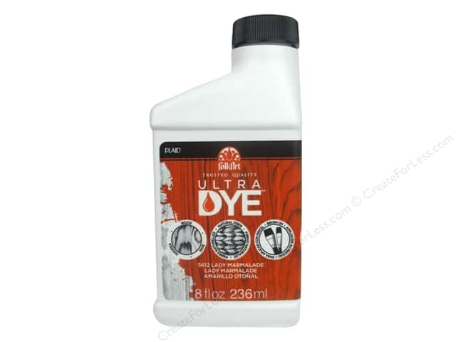 Plaid FolkArt Ultra Dye 8 oz. Lady Marmalade