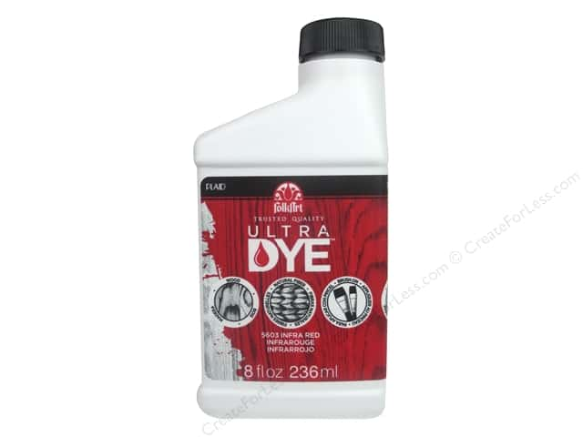 Plaid FolkArt Ultra Dye 8 oz. Infra Red