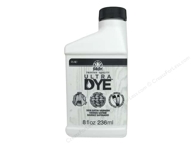 Plaid FolkArt Ultra Dye 8 oz. Varnish Satin