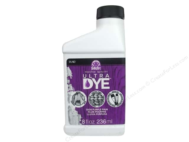 Plaid FolkArt Ultra Dye 8 oz. Purple Rain