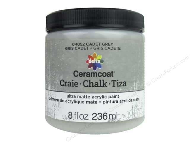 Delta Ceramcoat Chalk Paint 8 oz. Cadet Grey