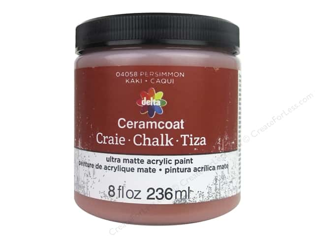 Delta Ceramcoat Chalk Paint 8 oz. Persimmon