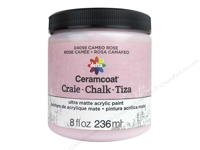 Delta Ceramcoat Chalk Paint 8 oz. Cameo Rose