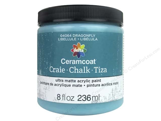 Delta Ceramcoat Chalk Paint 8 oz. Dragonfly