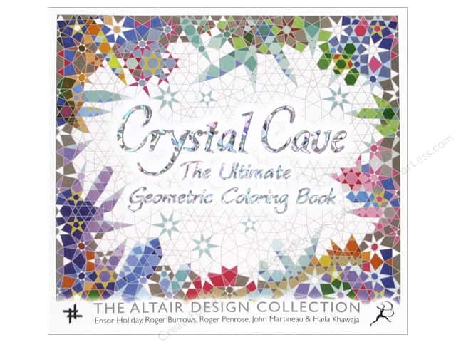 Bloomsbury Crystal Cave The Ultimate Geometric Coloring Book