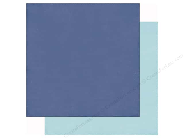 Echo Park 12 x 12 in. Paper Lets Be Mermaids Blue/Light Blue (25 sheets)