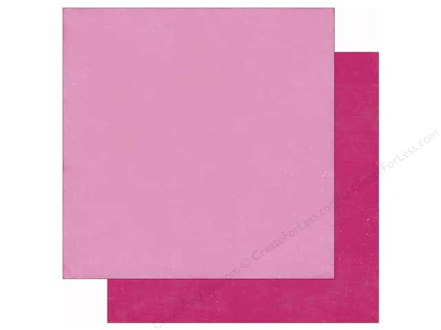 Echo Park 12 x 12 in. Paper Lets Be Mermaids Pink/Dark Pink (25 sheets)