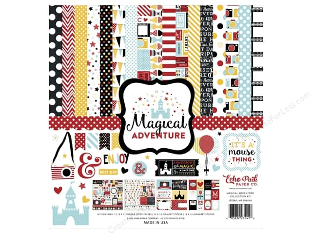 Echo Park 12 x 12 in. Collection Kit Magical Adventure