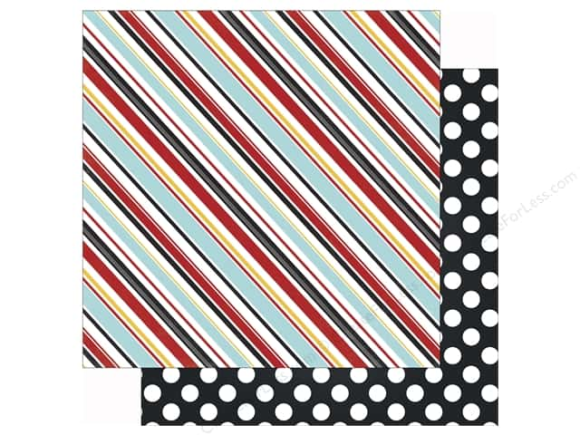 Echo Park 12 x 12 in. Paper Magical Adventure Silly Stripes (25 sheets)