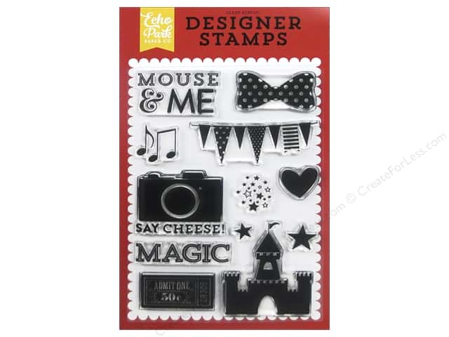 Echo Park Designer Stamp Magical Adventure Mouse & Me