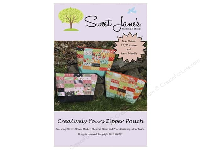 Sweet Jane's Designs Creatively Yours Zipper Pouch Pattern
