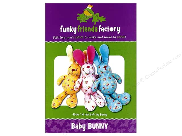 Funky Friends Factory Baby Bunny Pattern