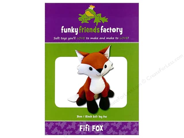 Funky Friends Factory Fifi Fox Pattern