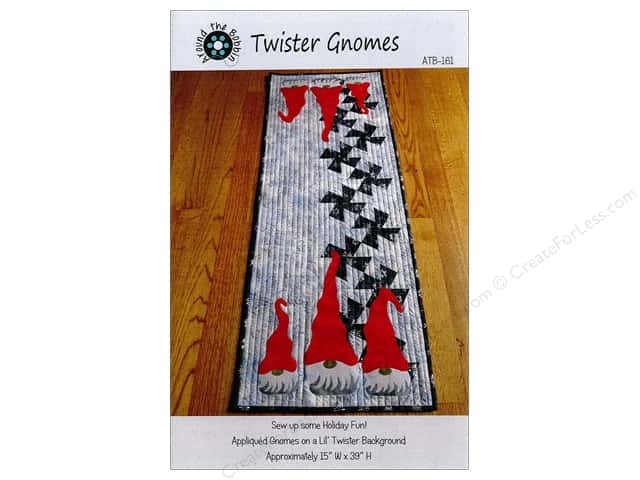 Around The Bobbin Twister Gnomes Pattern