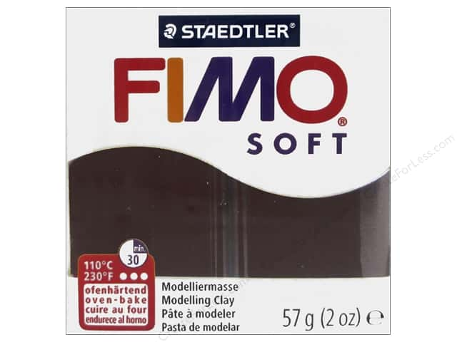 Fimo Soft Clay 2 oz. Chocolate