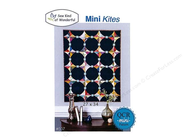 Sew Kind Of Wonderful QCR Mini Kites Pattern