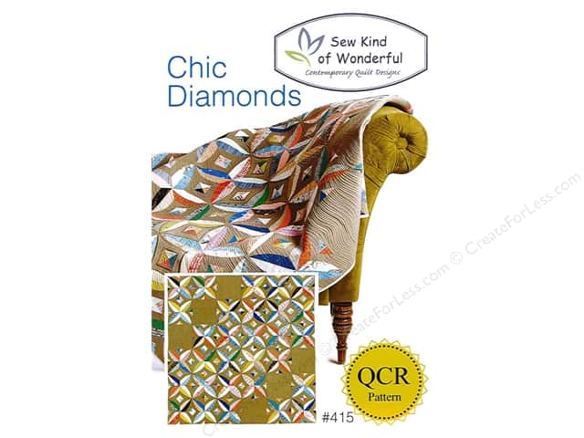 Sew Kind Of Wonderful QCR Chic Diamonds Pattern