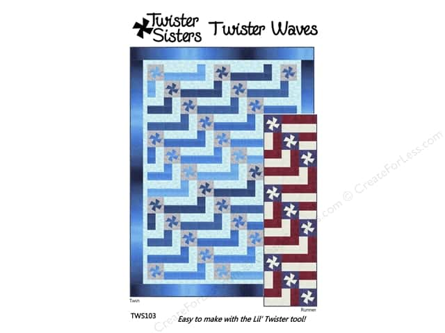 Twister Sisters Twister Waves Pattern