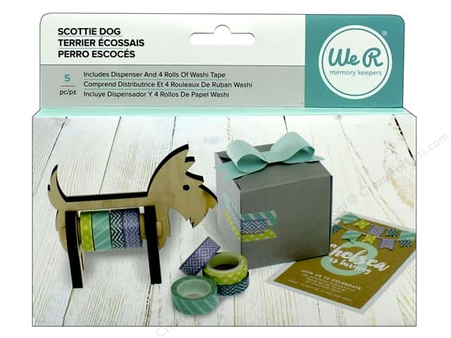 We R Memory Tool Washi Tape Dispenser Scotty Dog