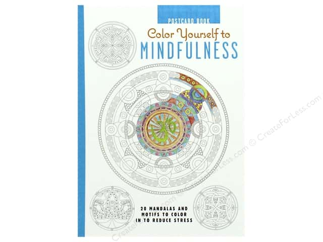 Cico Color Yourself To Mindfullness Postcard Book