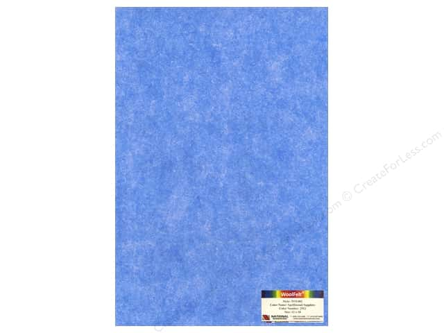 National Nonwovens WoolFelt 12 x 18 in. 35% Spellbound Sapphire (10 sheets)