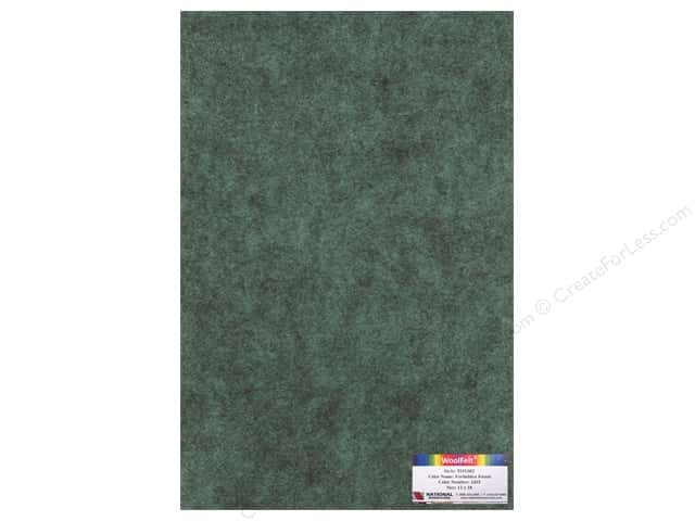 National Nonwovens WoolFelt 12 x 18 in. 35% Forbidden Forest (10 sheets)