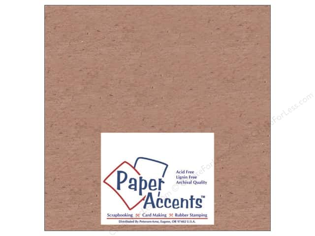 Paper Accents Chipboard 4 x 4 in. 42 pt. XL Heavy Natural (25 sheets)