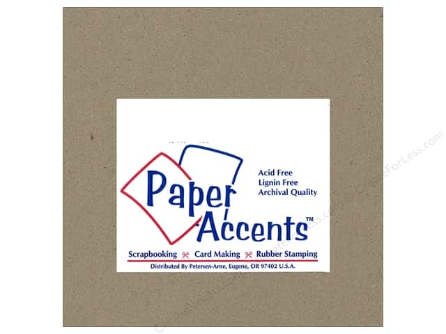 Paper Accents Chipboard 6 x 6 in. 42 pt. XL Heavy Natural (25 sheets)