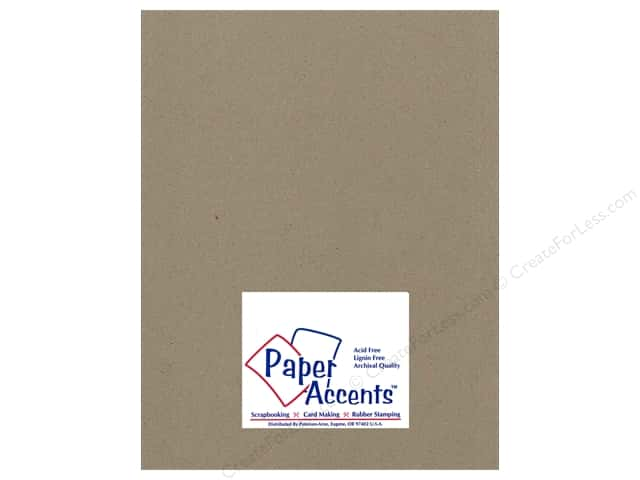 Paper Accents Chipboard 8 1/2 x 11 in. 42 pt. XL Heavy Natural 2 pc.