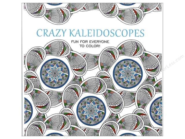 Leisure Arts Crazy Kaleidoscopes Coloring Book