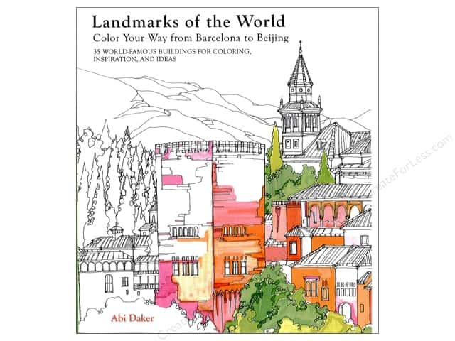 Lark Landmarks Of The World Coloring Book