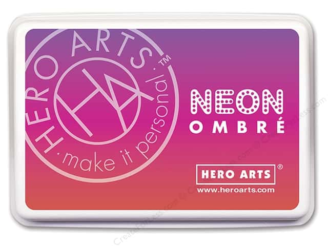 Hero Arts Ink Pad Ombre Neon Red/Purple