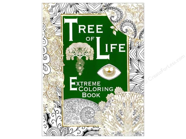 Scribo Publishing Tree Of Life Extreme Coloring Book
