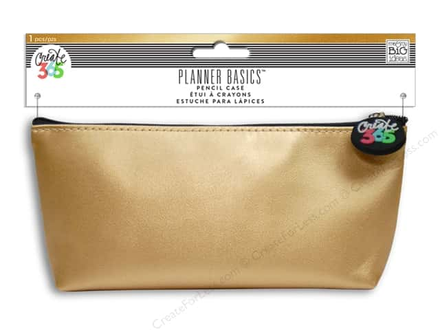 Me&My Big Ideas Create 365 Happy Planner Pencil Case Gold