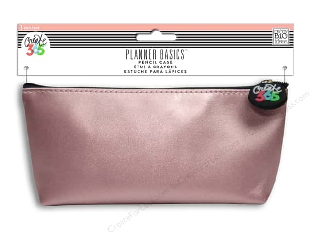 Me&My Big Ideas Create 365 Basics Pencil Case Rose Gold