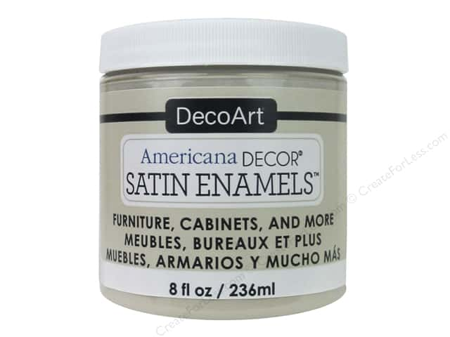 DecoArt Americana Decor Satin Enamel Paint 8 oz. Neutral Beige