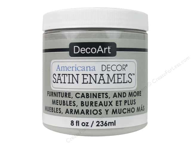 DecoArt Americana Decor Satin Enamel Paint 8 oz. Dove Beige