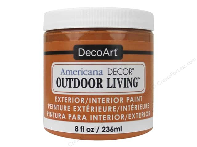 DecoArt Americana Decor Outdoor Living Exterior/Interior Paint 8 oz. Sunset