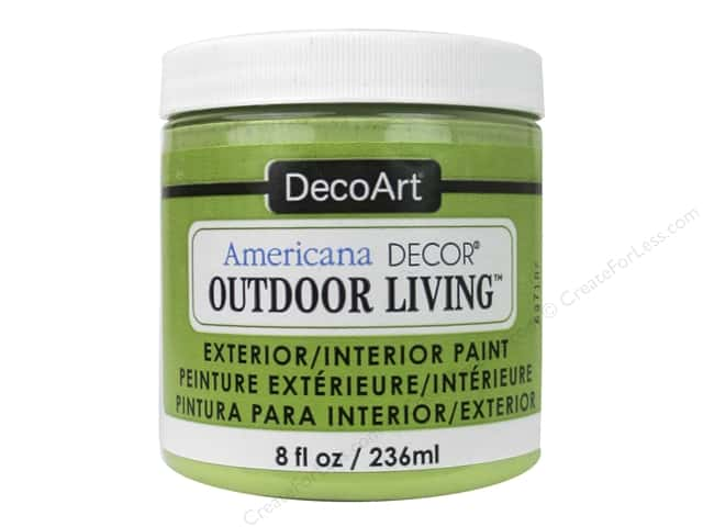 DecoArt Americana Decor Outdoor Living Exterior/Interior Paint 8 oz. Succulent